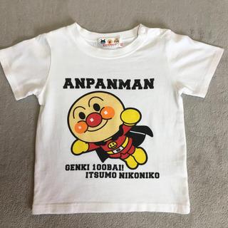 アンパンマン - アンパンマン バイキンマン 裏表プリント Tシャツ 100サイズ