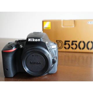 Nikon - NIKON D5500 ボディ ブラック ニコン 一眼レフ