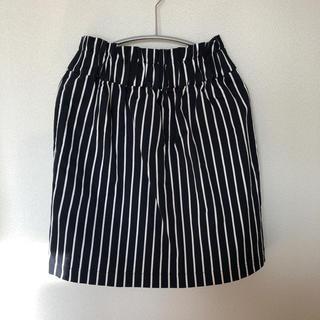 チャイルドウーマン(CHILD WOMAN)のCHILD WOMAN ストライプスカート(ひざ丈スカート)