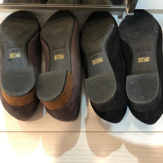 Nuovo(ヌォーボ)の美品 NUOVO  パンプスセット ブラック バイカラー  レディースの靴/シューズ(ハイヒール/パンプス)の商品写真
