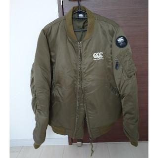 CANTERBURY - カンタベリー MA-1 ジャケットカーキLサイズ