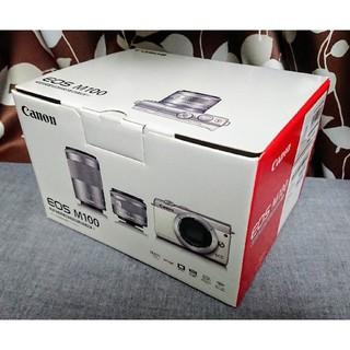 Canon - ★新品・送料込★Canon EOS M100 ダブルズームキット