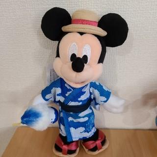 ミッキーマウス - ディズニー ミッキーぬいぐるみバッジ