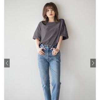 GRL - GRL 胸ポケット付き ビックTシャツ