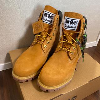アベイシングエイプ(A BATHING APE)の27cm TIMBERLAND×UNDEFEATED×BAPE BOOTS(ブーツ)