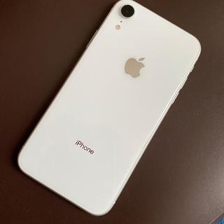 Apple - iPhone XR Whit泡64GB SIMフリー済み