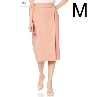 エヌナチュラルビューティーベーシック(N.Natural beauty basic)の新品 エヌ ナチュラルビューティーベーシック スカート ラップ風スカート M(ひざ丈スカート)