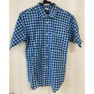 ドゥニーム(DENIME)のDenime(ドゥニーム) 半袖シャツ メンズ チェックシャツ(シャツ)