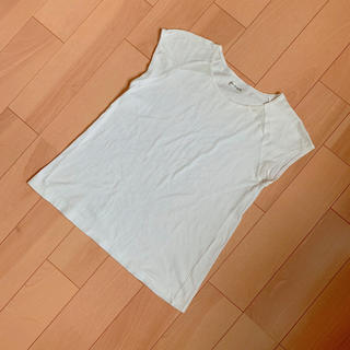 ベベ(BeBe)の❥ ❥ BeBe Tシャツ キッズ 150サイズ ホワイト シンプル 夏(Tシャツ/カットソー)