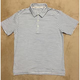 MUJI (無印良品) - 新品未使用  無印  ボーダーポロシャツ