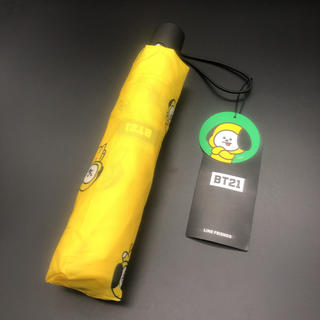 ボウダンショウネンダン(防弾少年団(BTS))の即決 BTS 防弾少年団 BT21 CHIMMY ジミン 折りたたみ傘(傘)