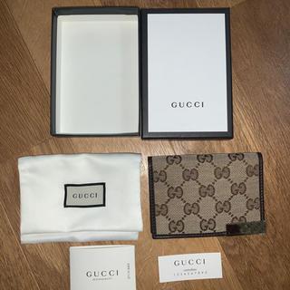 グッチ(Gucci)のGUCCI グッチ カードケース パスケース 【新品未使用】メンズ レディース(名刺入れ/定期入れ)