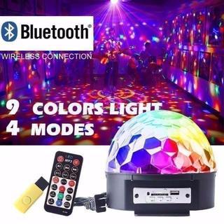 ステージライト ミラーボール RGB多色変化 音声制御 回転ライト 水 ¥3,4(天井照明)