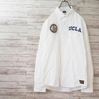 アヴィレックス(AVIREX)のAVIREX×UCLA オックスフォード ボタンダウンシャツ(シャツ)