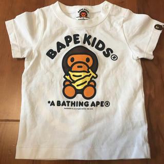 アベイシングエイプ(A BATHING APE)のA BATHING APE アベイジングエイプ Tシャツ 70 エイプ(Tシャツ)