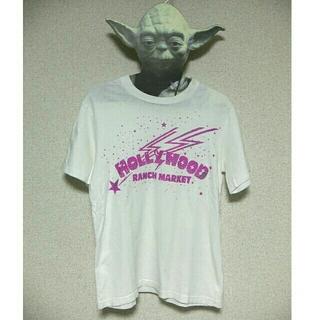 ハリウッドランチマーケット(HOLLYWOOD RANCH MARKET)のHRMハリウッドランチマーケットTシャツ白(Tシャツ(半袖/袖なし))