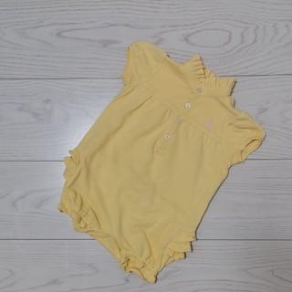 Ralph Lauren - ラルフローレン ポロシャツ ロンパース 70センチ
