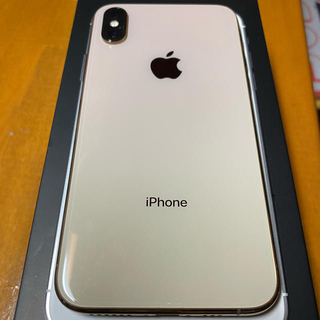 Apple - iPhone XS 64GB ゴールド