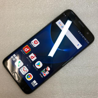ギャラクシー(Galaxy)のaki925 Galaxy S7 edge SC-02H ジャンク(スマートフォン本体)
