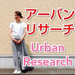 アーバンリサーチ(URBAN RESEARCH)のシャドーチェックがさり気なくオシャンティ❤UR✨切り替えTシャツ✨urb(Tシャツ(半袖/袖なし))