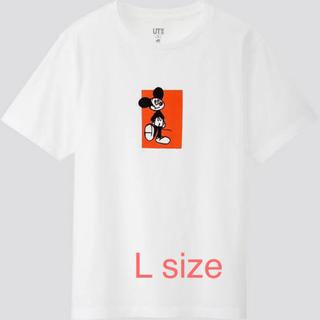 ユニクロ(UNIQLO)のユニクロ UT Tシャツ ミッキー ディズニー マンガ アート 手塚治虫 L(Tシャツ(半袖/袖なし))