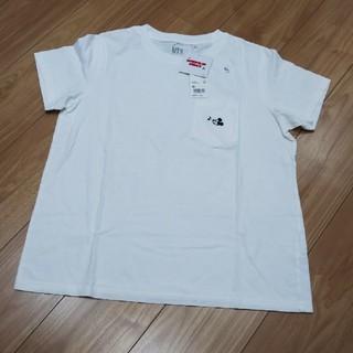 ユニクロ(UNIQLO)のユニクロ×ディズニー 半袖シャツ(Tシャツ(半袖/袖なし))