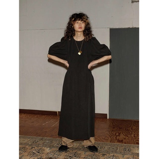BEAUTY&YOUTH UNITED ARROWS - 6 ROKU VOLUME SLEEVE DRESS 38