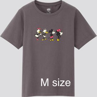 UNIQLO - ユニクロ UT Tシャツ ミッキー ディズニー マンガ アート しりあがり寿 M