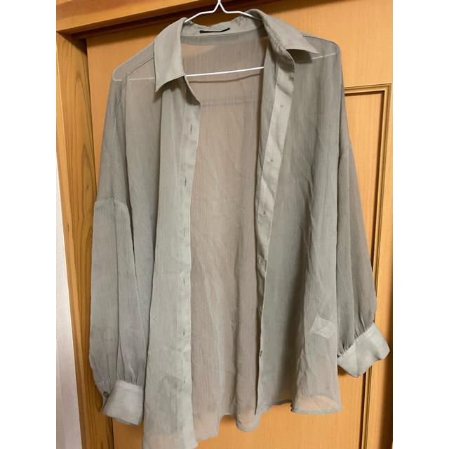 INGNI(イング)のオーバーシアーシャツ レディースのトップス(シャツ/ブラウス(長袖/七分))の商品写真