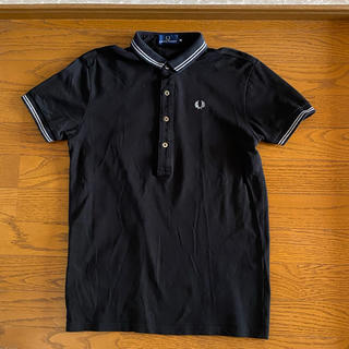FRED PERRY - ★美品★FRED PERRY 鹿の子 ポロシャツ ブラック Mサイズ