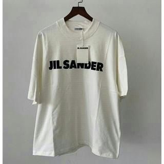 ジルサンダー(Jil Sander)のJIL SANDER 19/20AW新作 コットン ロゴ Tシャツ(Tシャツ/カットソー(半袖/袖なし))