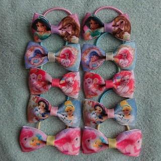 ディズニー(Disney)のプリンセスミニリボンヘアゴム(ファッション雑貨)