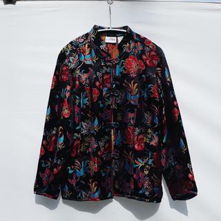 アメリヴィンテージ(Ameri VINTAGE)のVintage Floral jacquard jacket(シャツ/ブラウス(長袖/七分))