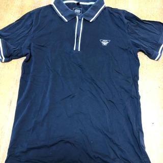 アルマーニ ジュニア(ARMANI JUNIOR)のアルマーニジュニア ネイビー シャツ 170センチ(Tシャツ/カットソー)