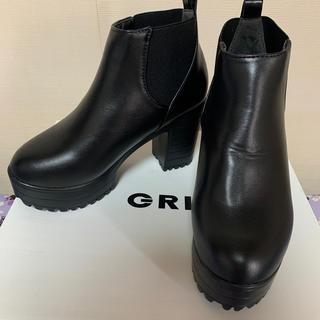 GRL - GRL サイドゴア ショートブーツ