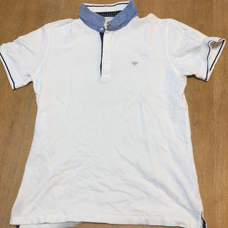 アルマーニ ジュニア(ARMANI JUNIOR)のアルマーニジュニア ポロシャツ 165センチ(Tシャツ/カットソー)