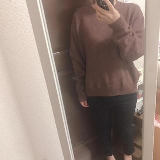 ユニクロ(UNIQLO)のカシミヤセーター(ニット/セーター)
