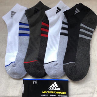 アディダス(adidas)のアディダス ソックス 靴下 4足 adidas スニーカーソックス(ソックス)
