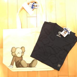 ユニクロ(UNIQLO)のカウズ×ユニクロUNIQLO新品トート&Tシャツ(Tシャツ(半袖/袖なし))