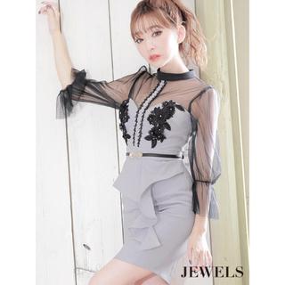 JEWELS - Jewels ロングスリーブ キャバドレス