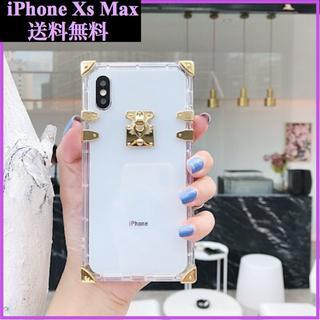 iPhone Xs Max専用!!クリアケース! トランク型