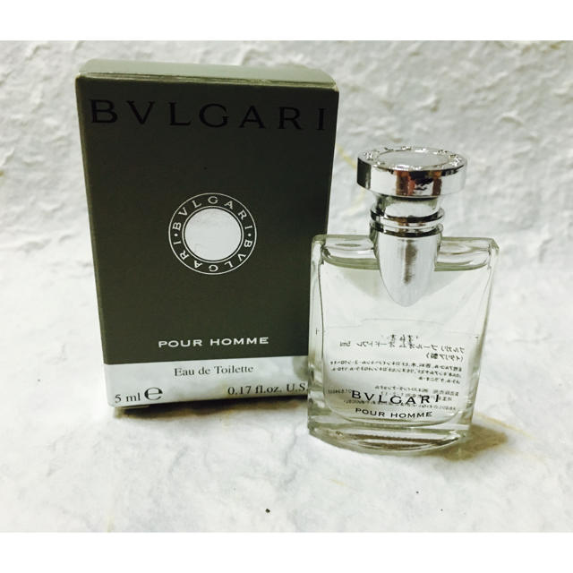 big sale 3135d 58183 BVLGARI香水ミニボトル【5ml】   フリマアプリ ラクマ