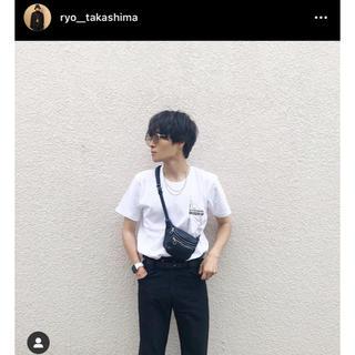 ジルサンダー(Jil Sander)のkikokostadinov ロゴt 白 半袖 ryo 着用(Tシャツ/カットソー(半袖/袖なし))