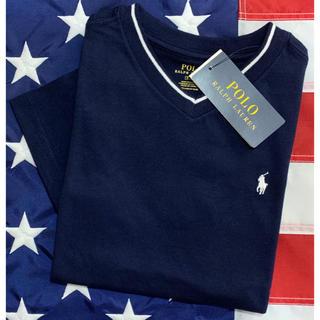 POLO RALPH LAUREN - ★SALE ★ ラルフローレンVネックTシャツ6/120
