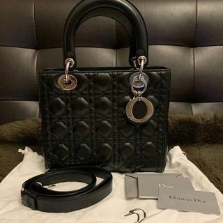 Christian Dior - 極美品 Dior レディディオール ハンドバッグ