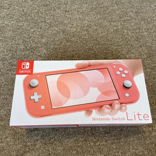 Nintendo Switch - 【新品・保証書あり】Nintendo Switch LITE コーラル