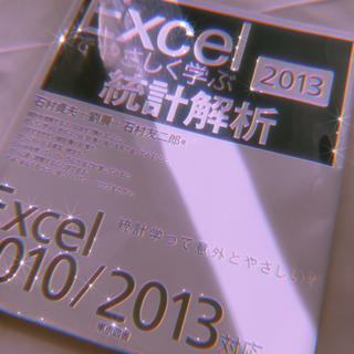 Excelでやさしく学ぶ統計解析 2013