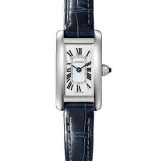 カルティエ(Cartier)のタンクアメリカンミニ Cartier カルティエ 時計(腕時計)