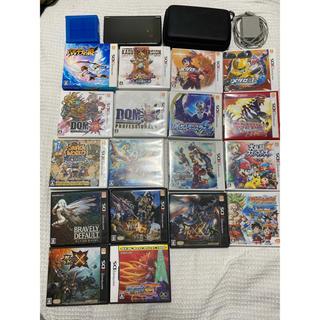 ニンテンドー3DS - 任天堂3DSLL本体+ソフト18本セット