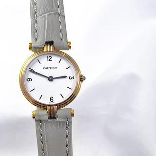 カルティエ(Cartier)の【仕上済】カルティエ ヴァンドーム スリーゴールド K18 レディース 時計(腕時計)